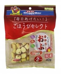 【ドギーマンハヤシ】ごほうびセレクト さつまいものカロリーおふ 40gx48個(ケース販売)