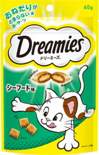 マースジャパン ドリーミーズ シーフード味 激安 激安特価 送料無料 在庫一掃 60g