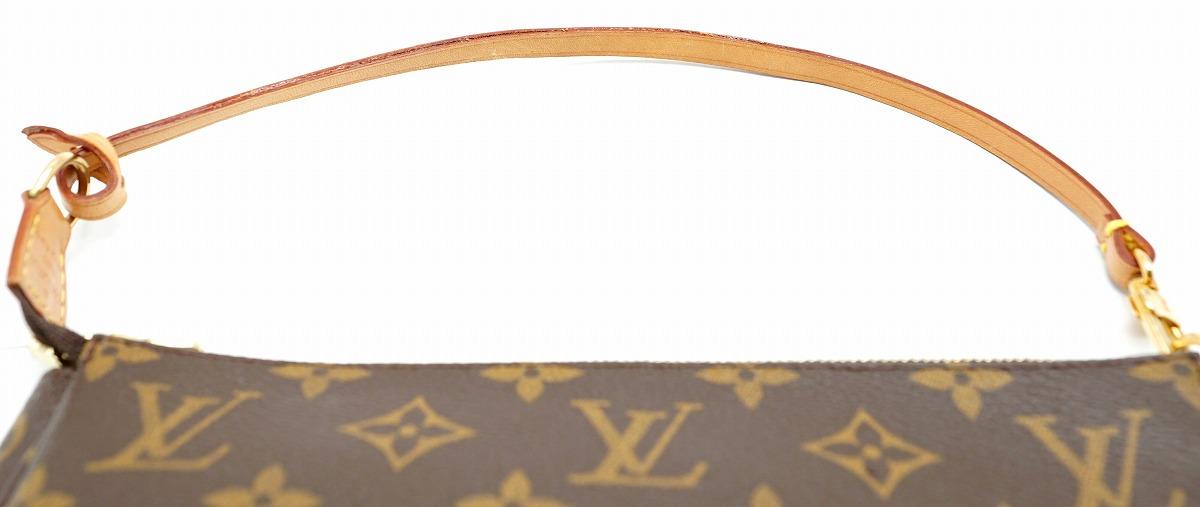 ハンドバッグ 【バッグ】 アクセサリーポーチ アクセソワール パーティーバッグ 【k】 ポシェット ルイ 【中古】 モノグラム M51980 ヴィトン LOUIS VUITTON