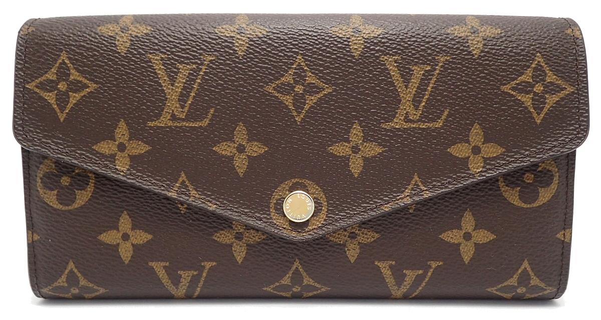 【財布】LOUIS VUITTON ルイ ヴィトン モノグラム ポルトフォイユ サラ 新型 ファスナー長財布 M60531 【中古】【k】【Blumin 市場店】