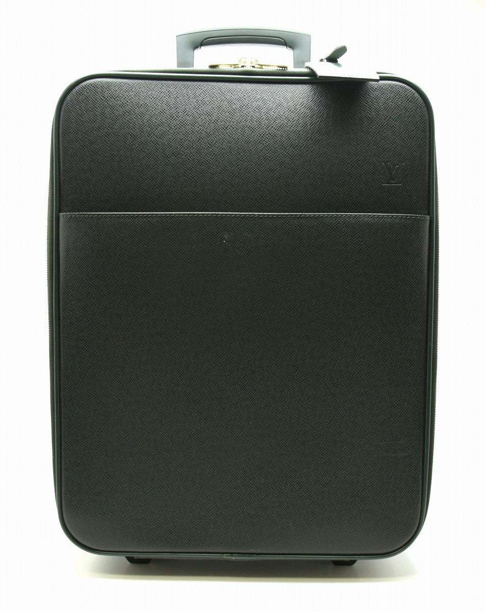 【バッグ】LOUIS VUITTON ルイ ヴィトン タイガ ペガス50 スーツケース キャリーバッグ キャリーケース 旅行用 トラベル レザー エピセア ダークグリーン M23274 【中古】【k】【Blumin 市場店】