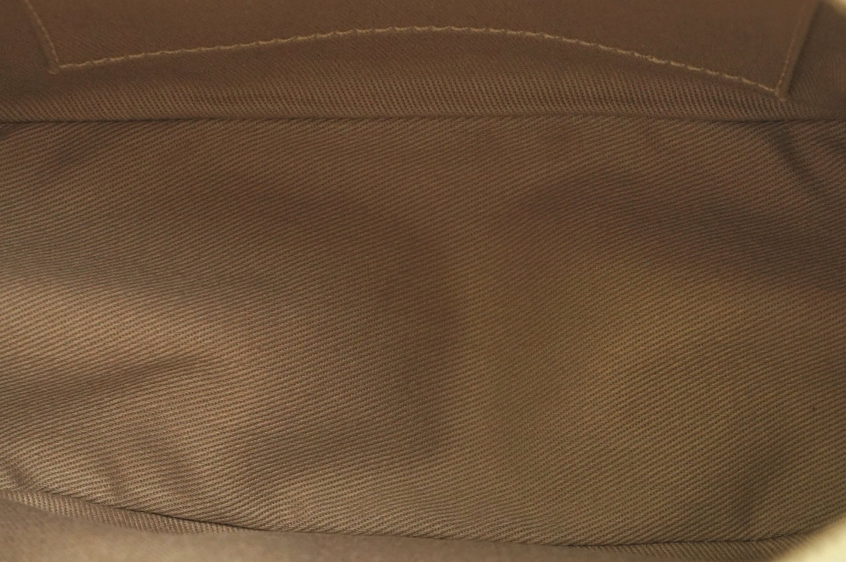 5fa8021b2eb6 【バッグ】CELINEセリーヌマカダム柄ショルダーバッグPVCレザーベージュ赤レッドCE00/