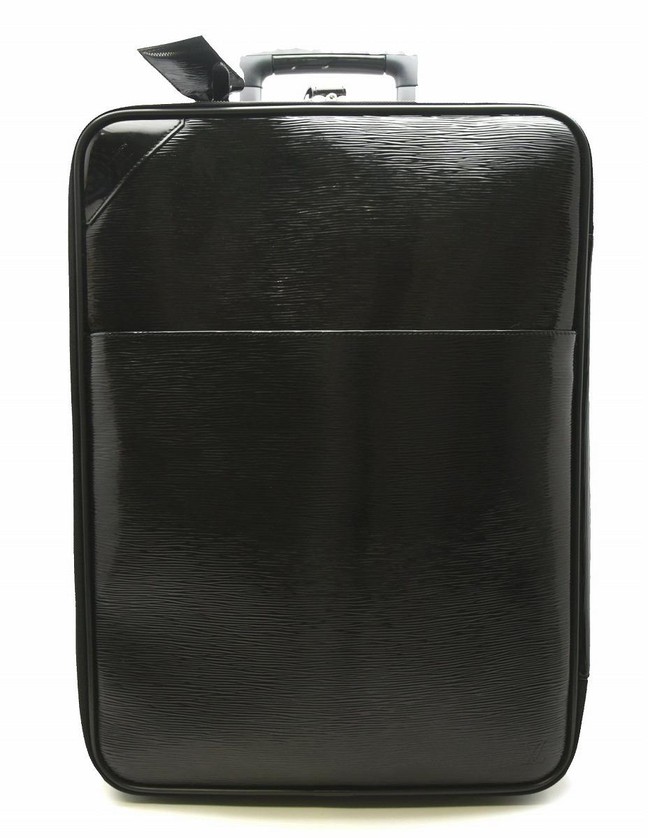 【バッグ】LOUIS VUITTON ルイ ヴィトン エピ エレクトリック ペガス55 ノワール ブラック キャリーバッグ キャリーケース スーツケース 旅行カバン M4035N 【中古】【k】