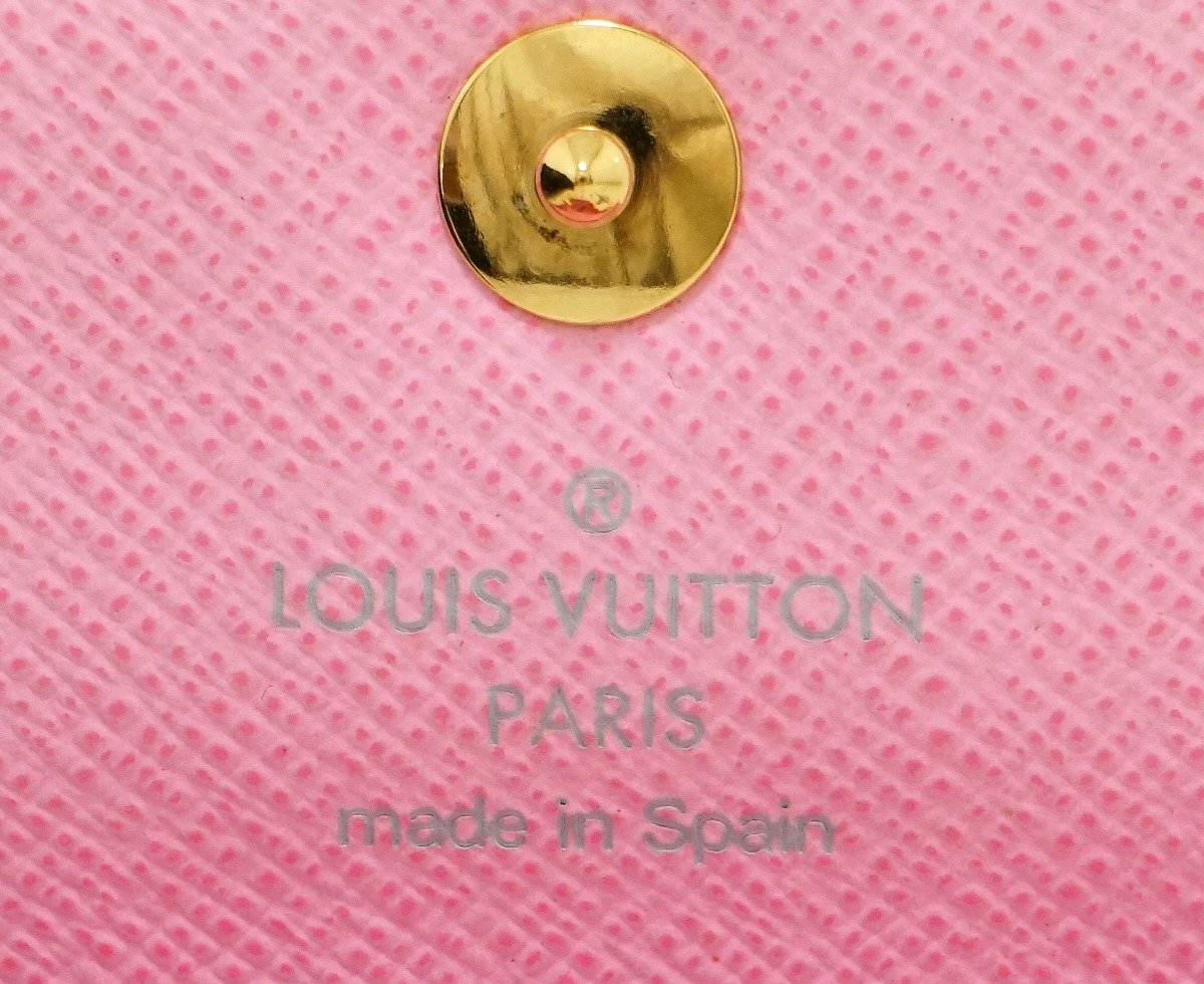 LOUIS VUITTON ルイ ヴィトン マルチカラー アンヴェロップ カルトドゥ ヴィジット カードケース 名刺入れ ブロン リッチ ホワイト ピンク M66560k9WYEHID2