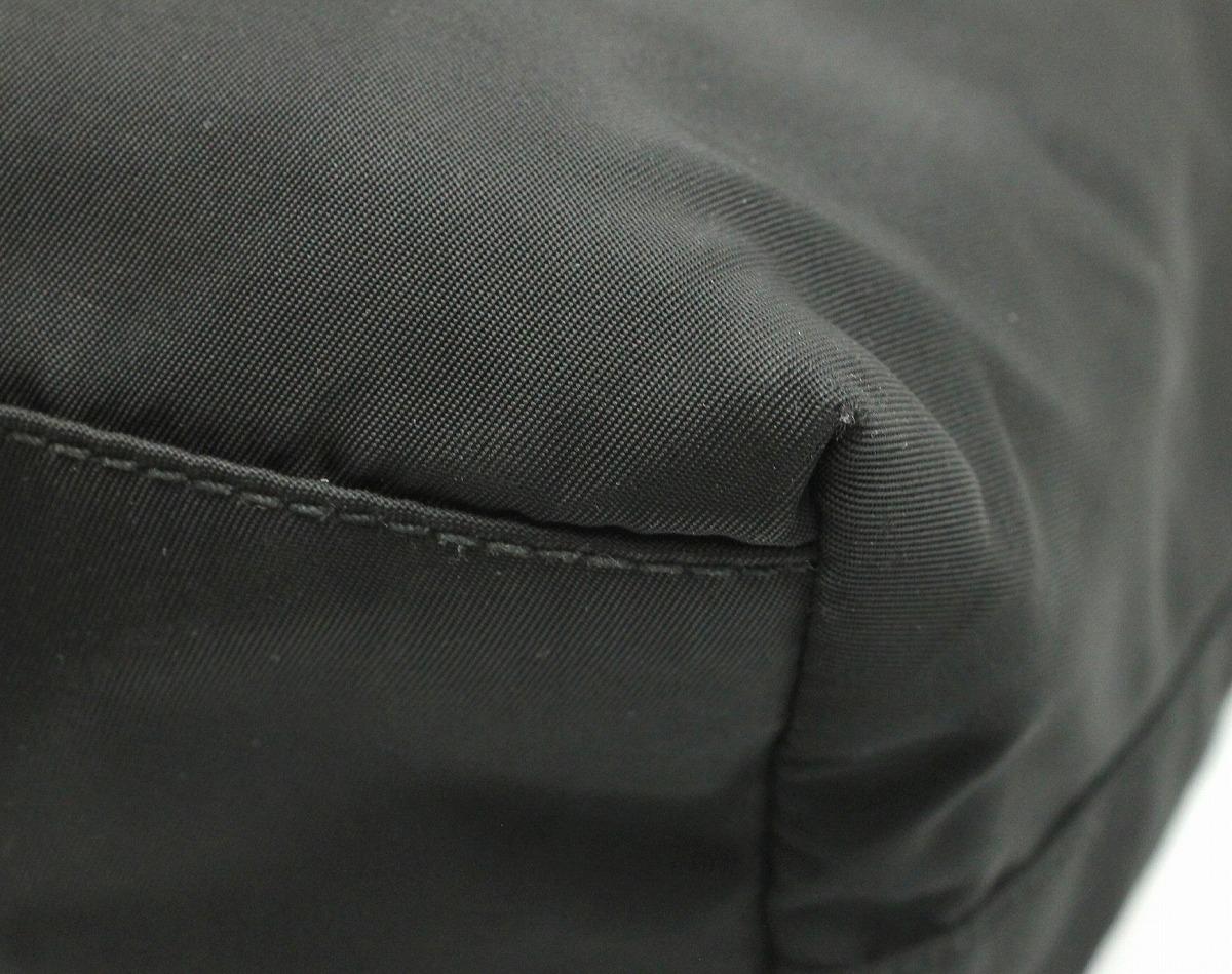 9f6c0962d485 【バッグ】PRADAプラダナイロントートバッグショルダートートレザー黒ブラックB5880【中古