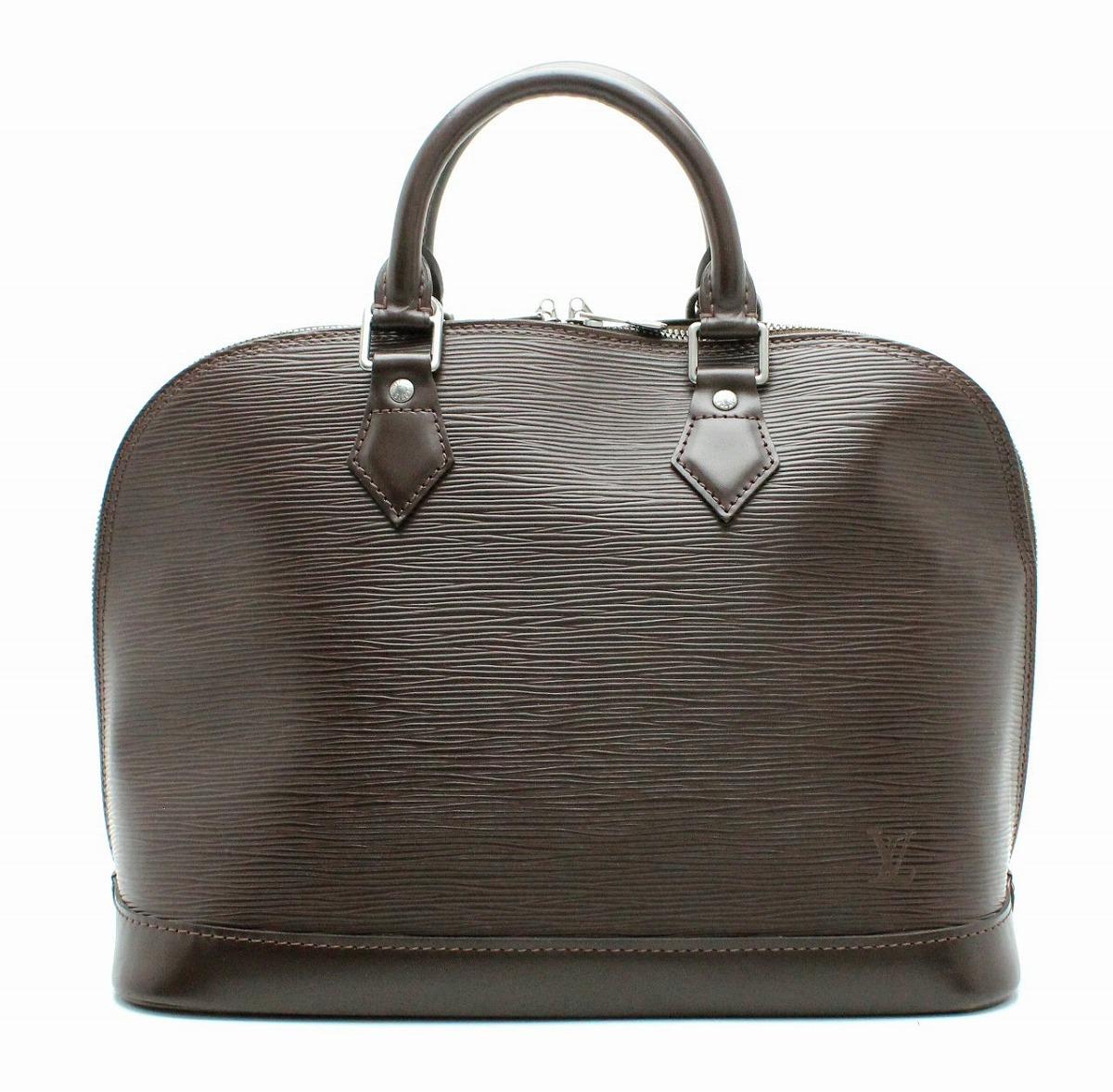 【バッグ】LOUIS VUITTON ルイ ヴィトン エピ アルマ ハンドバッグ レザー モカ 茶 ブラウン M5214D 【中古】【k】