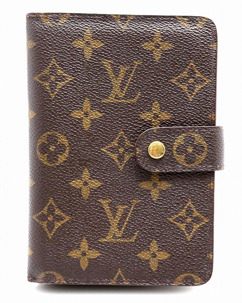 【財布】LOUIS VUITTON ルイ ヴィトン モノグラム ポルトパピエ ジップ 2つ折 財布 証明書ケース付き M61207 【中古】【k】