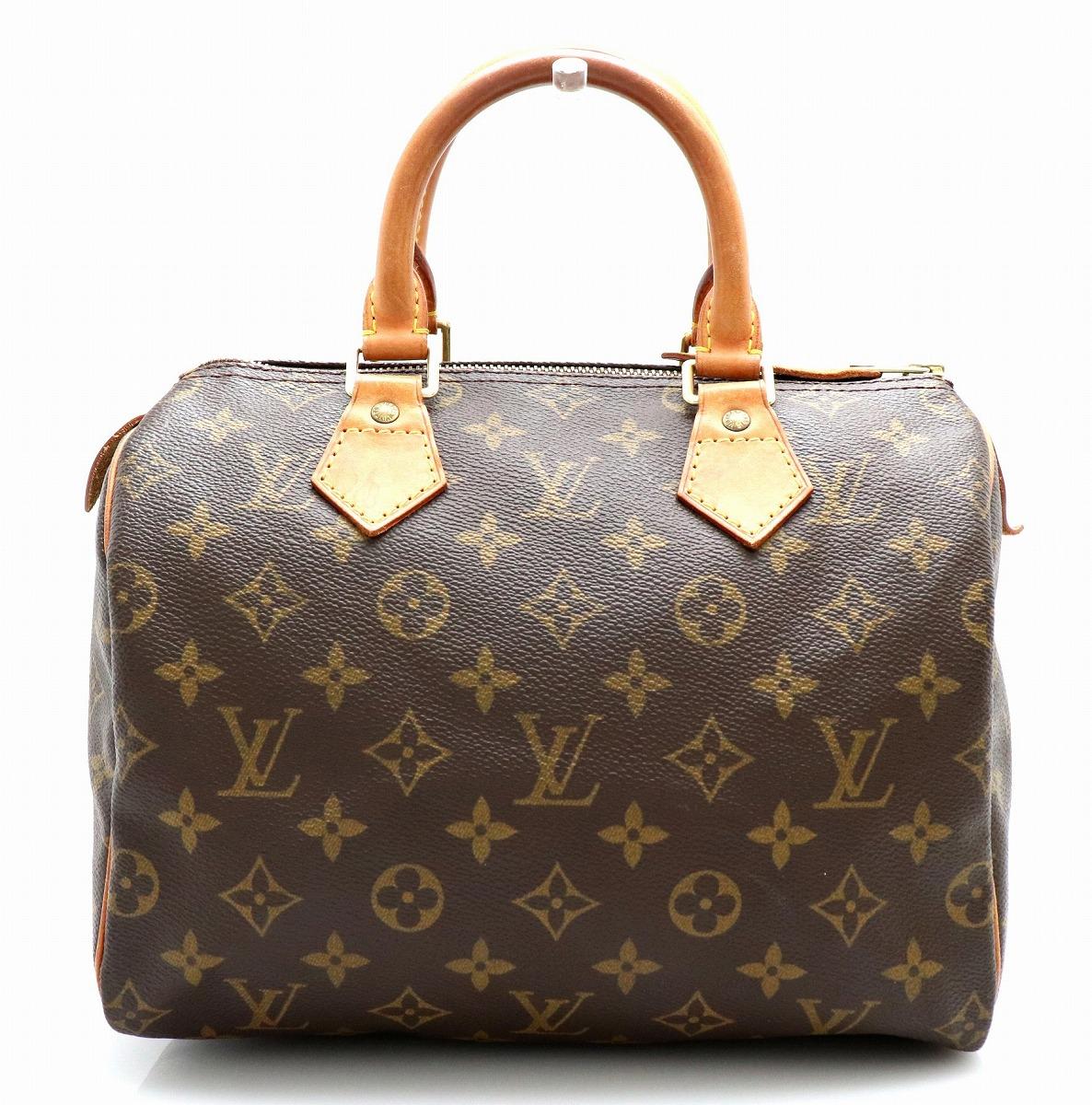 【バッグ】LOUIS VUITTON ルイ ヴィトン モノグラム スピーディ25 ミニボストンバッグ ハンドバッグ M41528 【中古】【k】