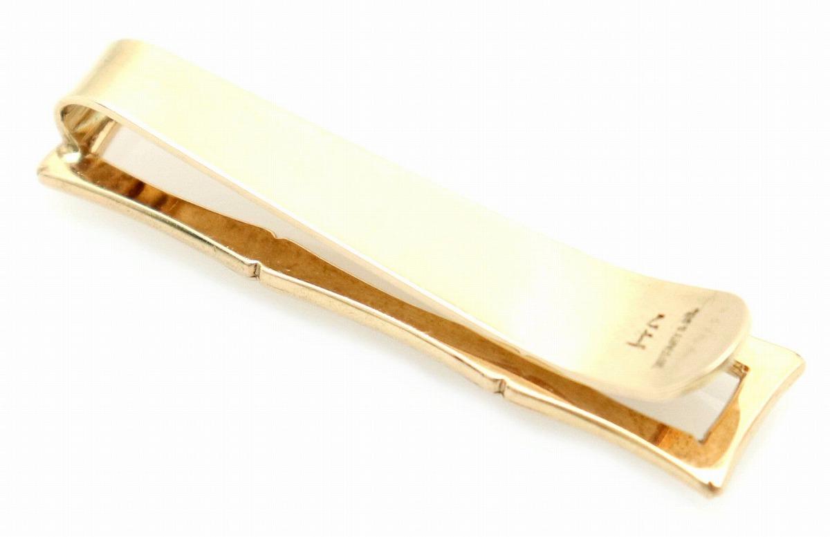 【ジュエリー】 TIFFANY&Co. ティファニー ネクタイピン タイピン タイバー K14 ゴールド 【中古】【u】