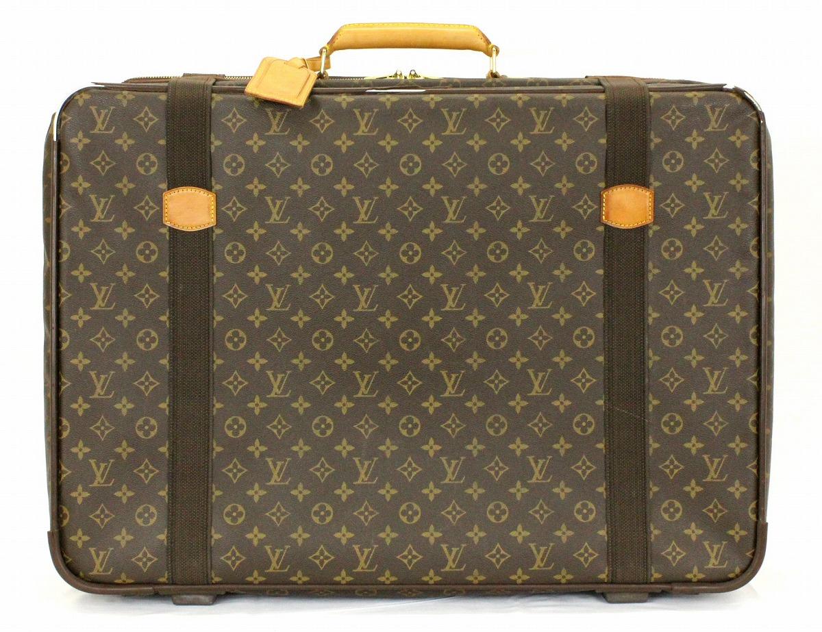 【バッグ】LOUIS VUITTON ルイ ヴィトン モノグラム サテライト65 トラベルバッグ ボストンバッグ 旅行バッグ スーツケース M23352 【中古】【k】