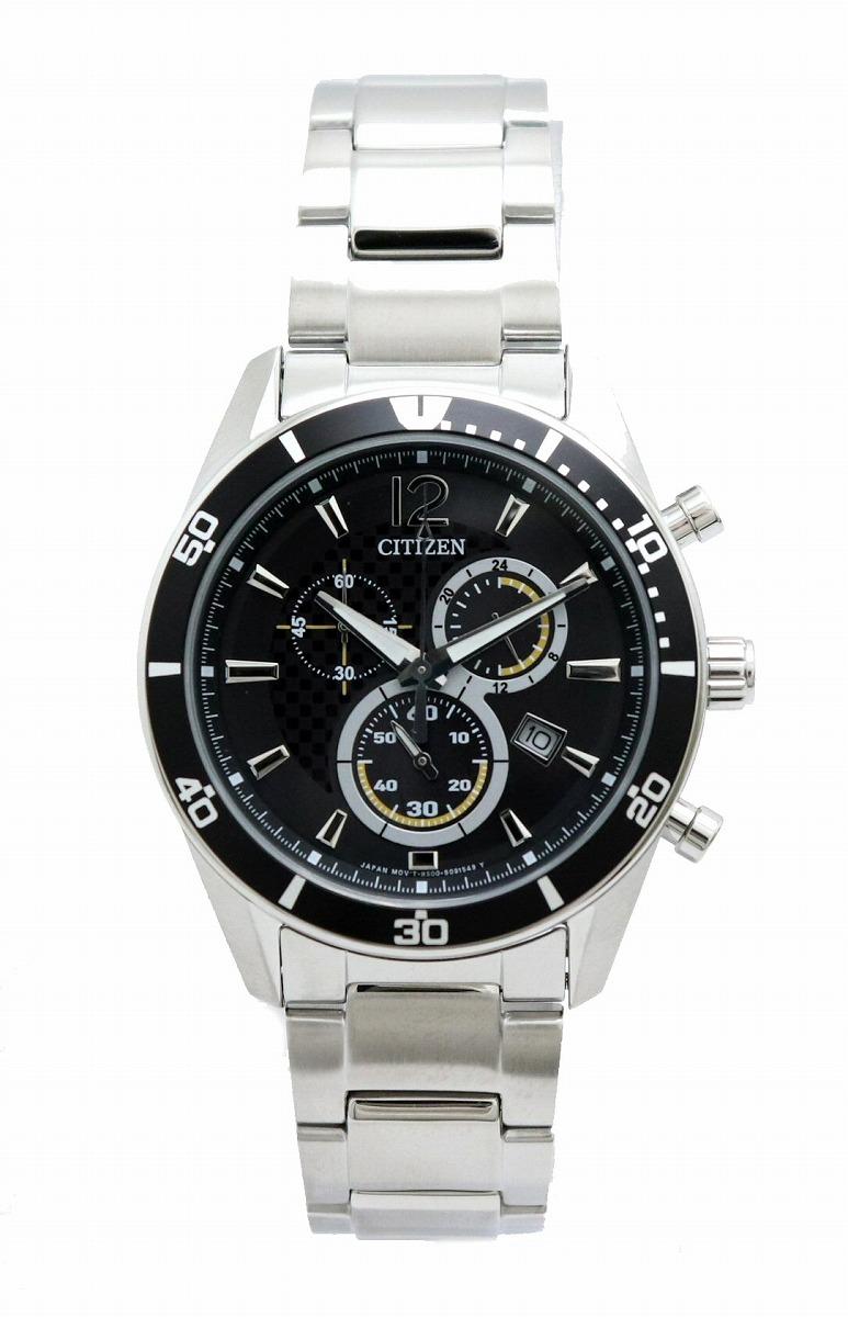 【新品未使用品】【ウォッチ】CITIZEN シチズン オルタナ エコドライブ クロノグラフ SS メンズ 腕時計 H500-S061091【u】
