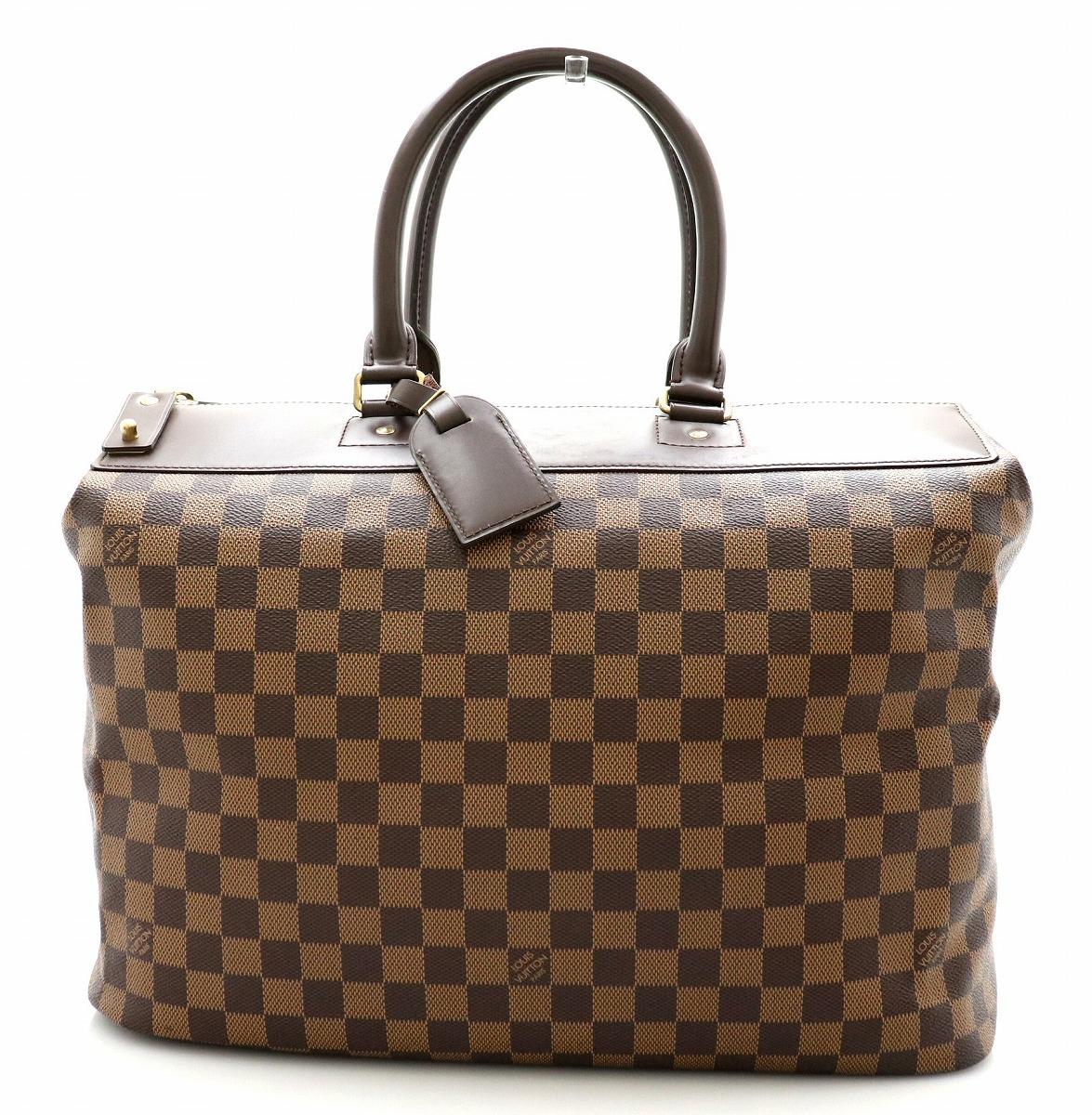 【バッグ】LOUIS VUITTON ルイ ヴィトン ダミエ グリニッジPM ボストンバッグ ハンドバッグ トートバッグ ビジネスバッグ N41165 【中古】【k】