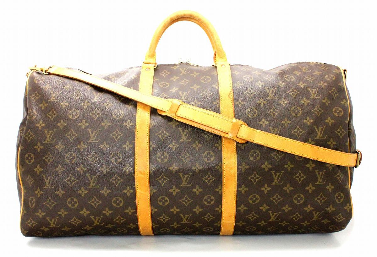 【バッグ】LOUIS VUITTON ルイ ヴィトン モノグラム キーポル バンドリエール60 ボストンバッグ 旅行カバン トラベルバッグ ショルダーバッグ M41412 【中古】【k】