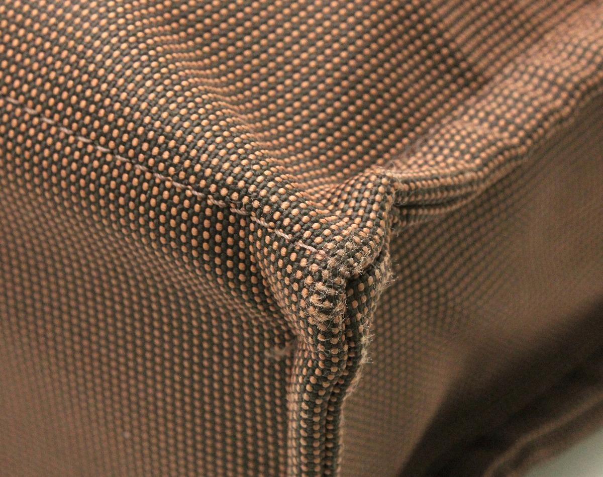 f16ba5a7ca7a トートMM エールライン エルメス 【バッグ】HERMES トートバッグ 【中古】【k】 ブラウン 茶 ナイロンキャンバス ハンドバッグ-トートバッグ
