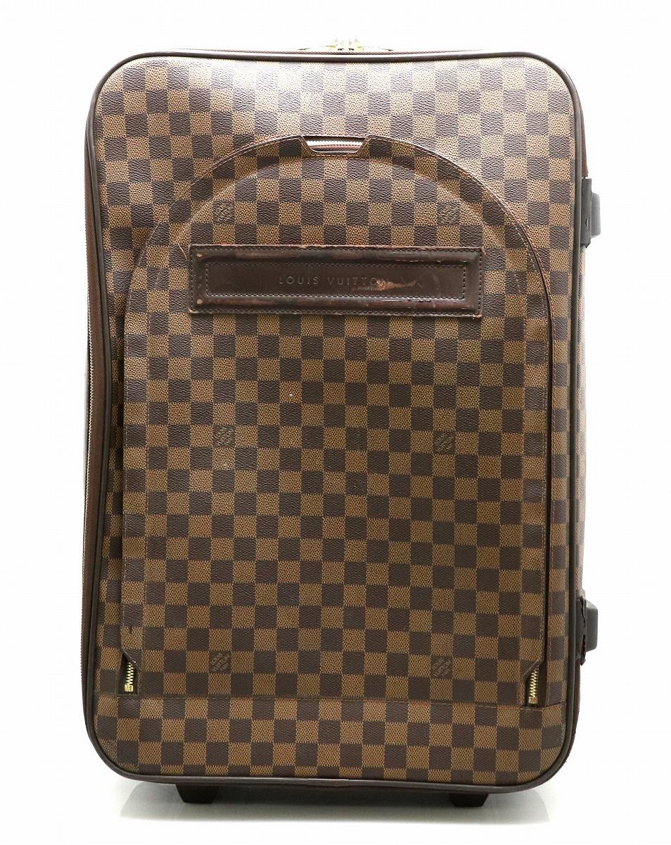 【バッグ】LOUIS VUITTON ルイ ヴィトン ダミエ ペガス55 ベガス55 スーツケース キャリーバッグ キャリーケース トロリーバッグ 旅行用 N23294 【中古】【k】