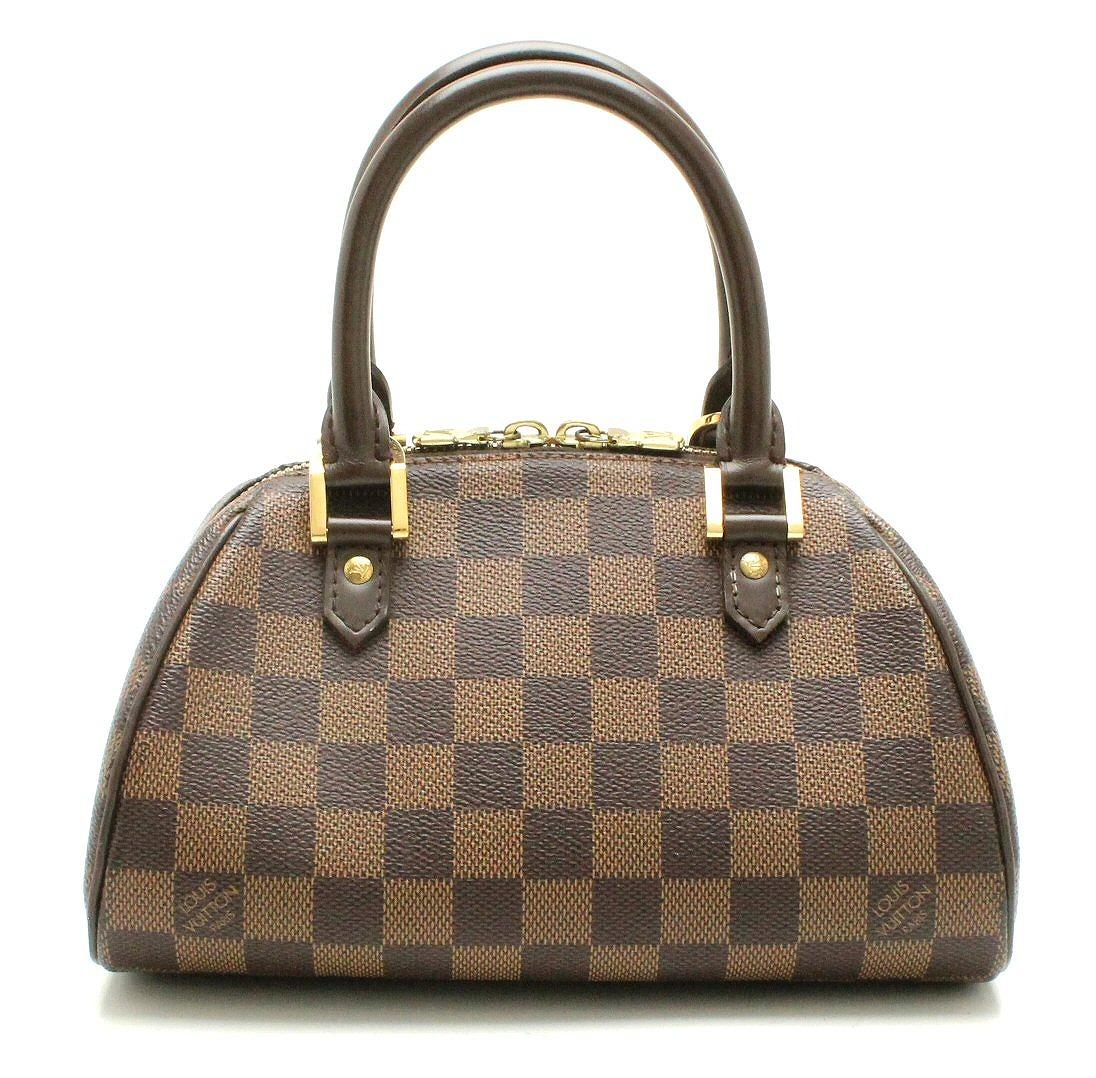 【バッグ】LOUIS VUITTON ルイ ヴィトン ダミエ リベラミニ ハンドバッグ N41436 【中古】【k】