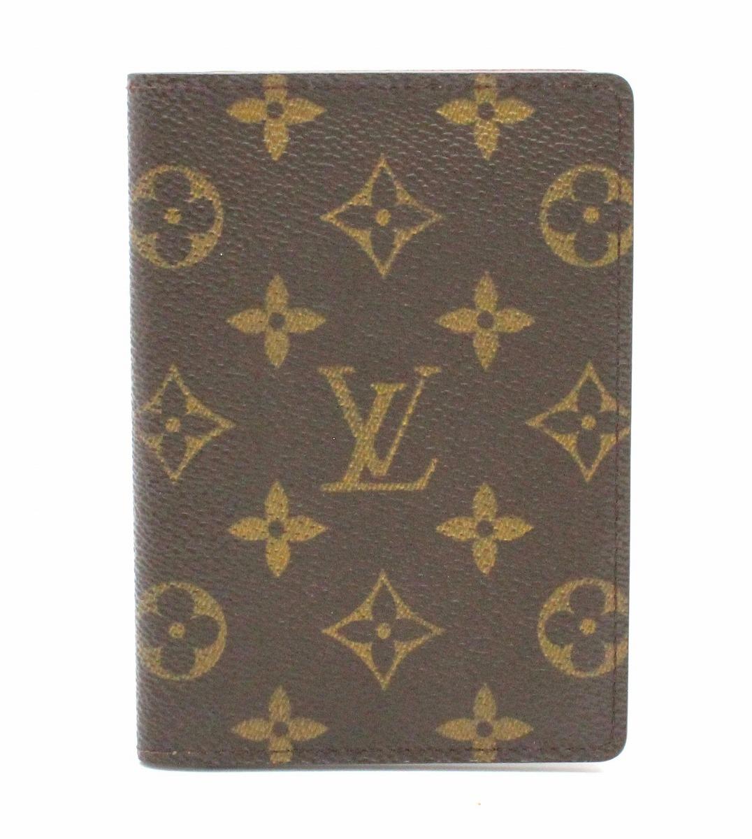 【財布】LOUIS VUITTON ルイ ヴィトン モノグラム パスポートカバー パスポートケース M60179 【中古】【k】