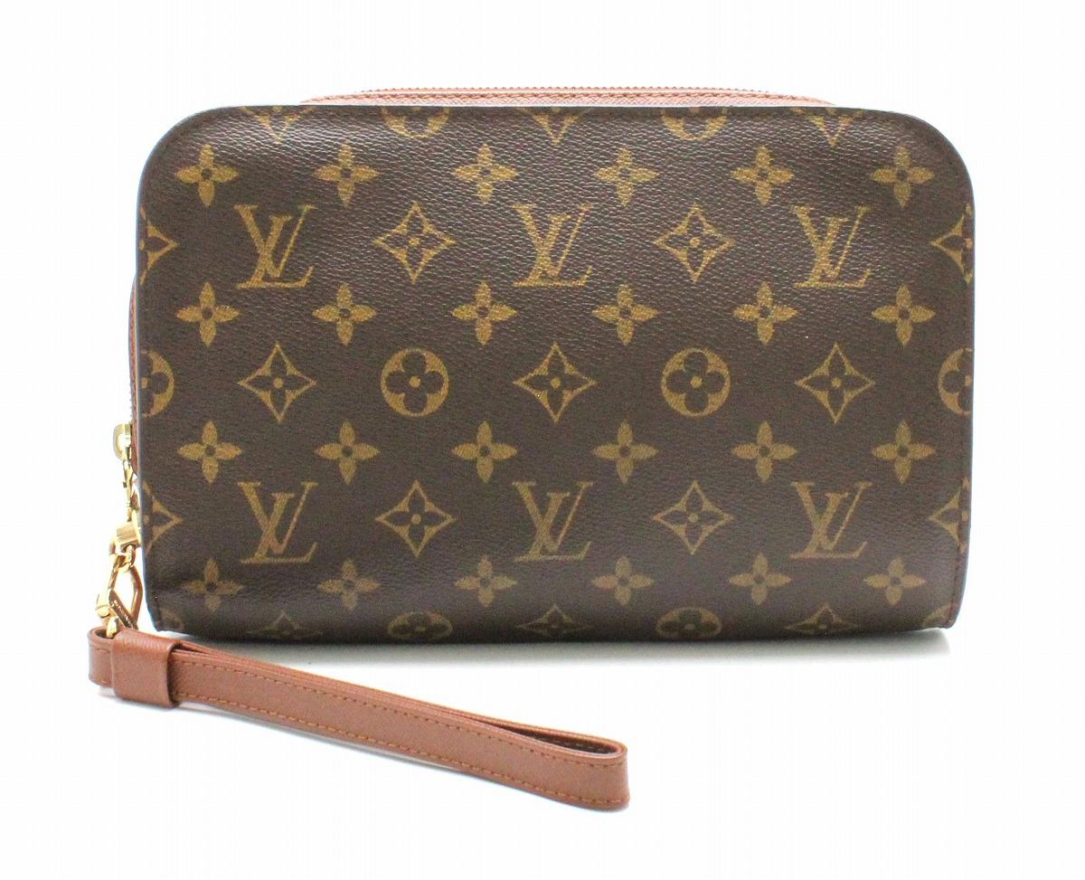 【バッグ】LOUIS VUITTON ルイ ヴィトン モノグラム オルセー セカンドバッグ メンズ ハンドバッグ クラッチバッグ M51790 【中古】【k】