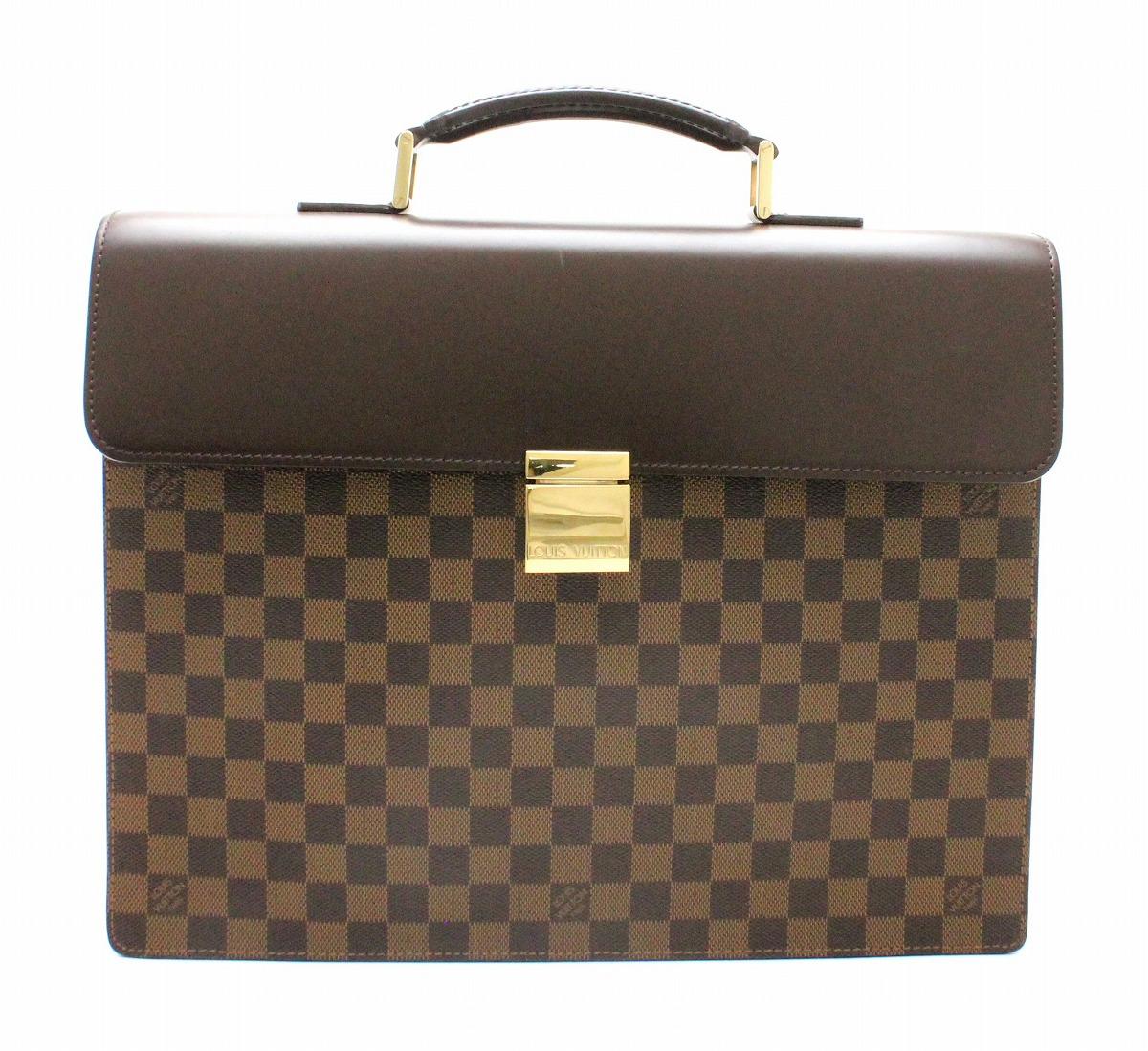 【バッグ】LOUIS VUITTON ルイ ヴィトン ダミエ アルトナ 書類カバン ビジネスバッグ ブリーフケース N53315 【中古】【k】