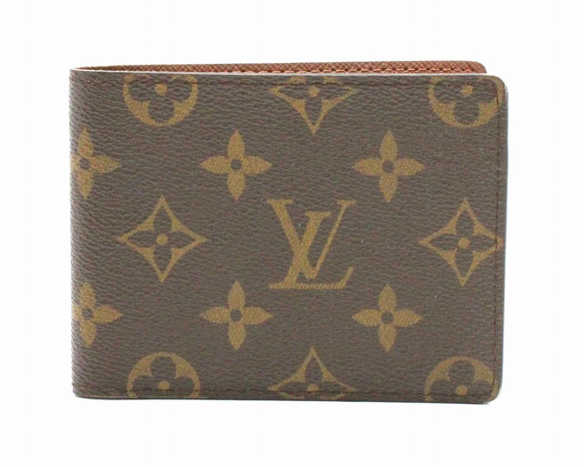 【財布】LOUIS VUITTON ルイ ヴィトン モノグラム ポルトビエ 9カルトクレディ 2つ折札入れ M60930 【中古】【k】