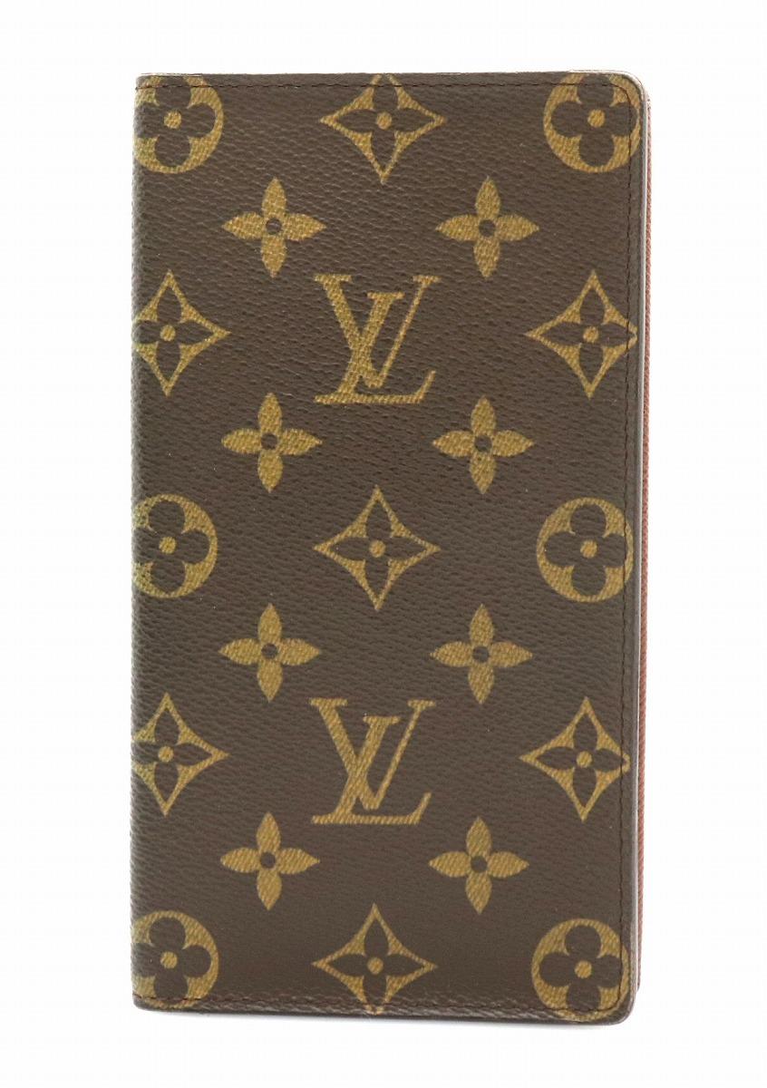 【財布】LOUIS VUITTON ルイ ヴィトン モノグラム ポルト カルト クレディ 円 長札入れ M60825 【中古】【k】