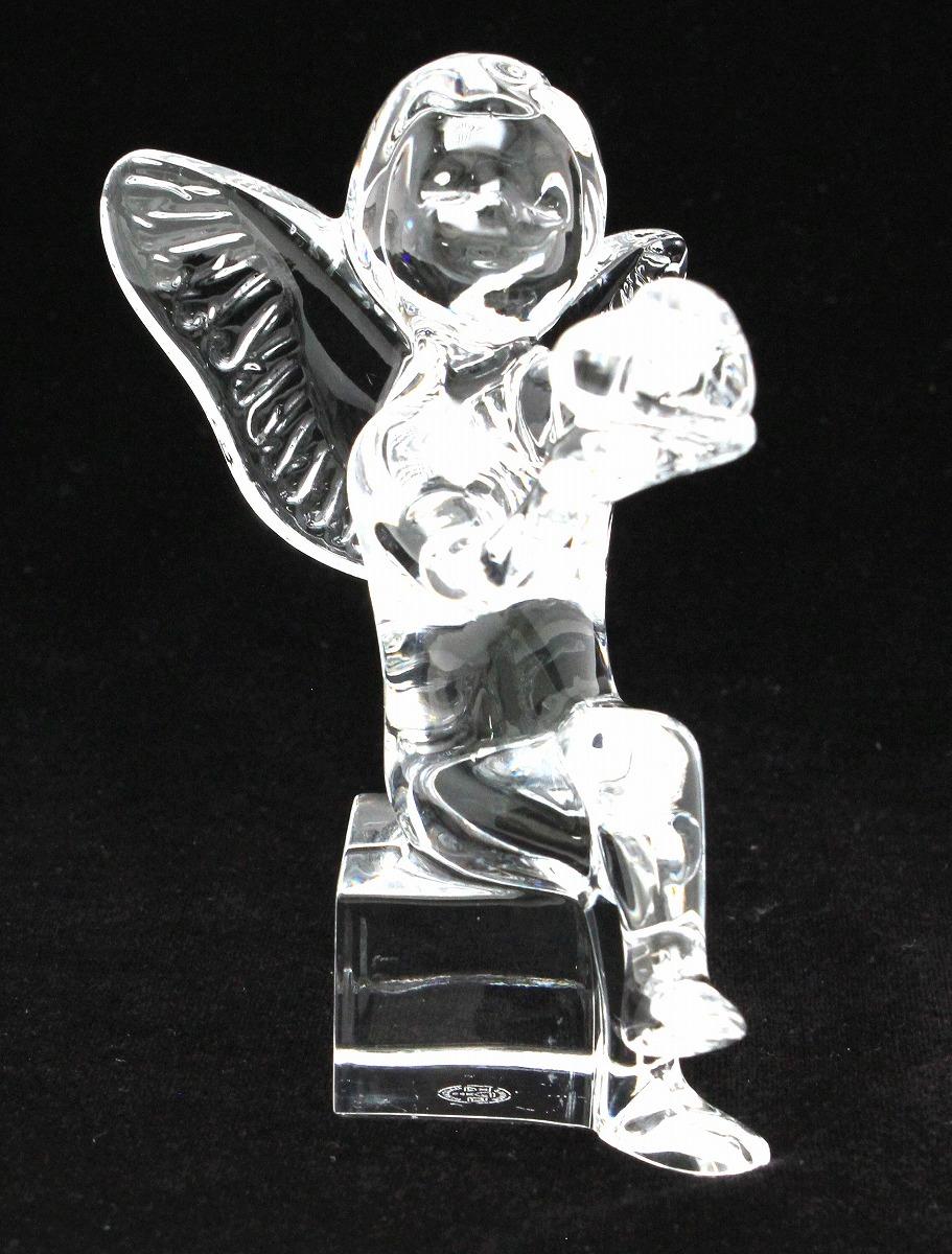 新作人気モデル Baccarat バカラ クリスタル ガラス paperwait 干支シリーズ クリスタル 天使 エンジェル【中古】【k】 タイガー タイガー 干支シリーズ 置物 フィギュリン【中古】【k】, RINKAN:ba94b879 --- totem-info.com
