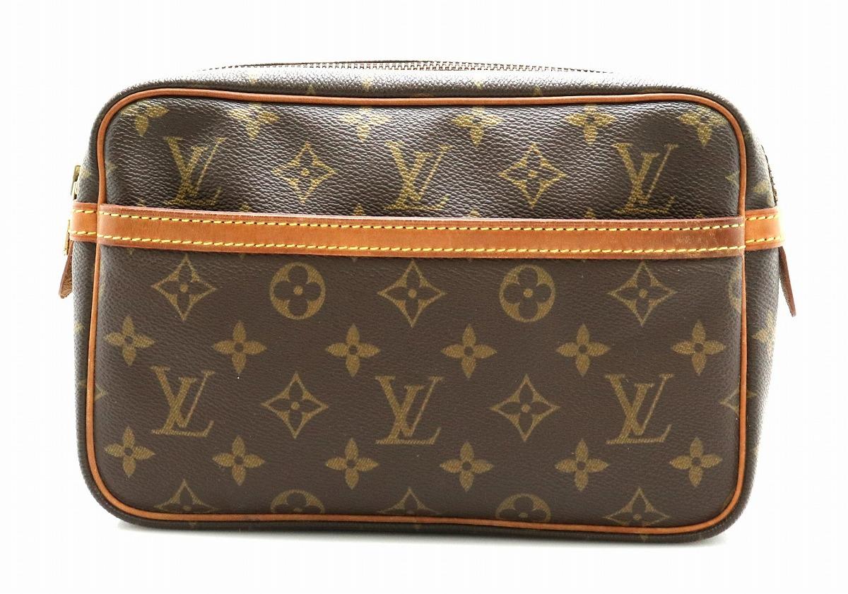 【バッグ】LOUIS VUITTON ルイ ヴィトン モノグラム コンピエーニュ23 セカンドバッグ クラッチバッグ M51847 【中古】【k】