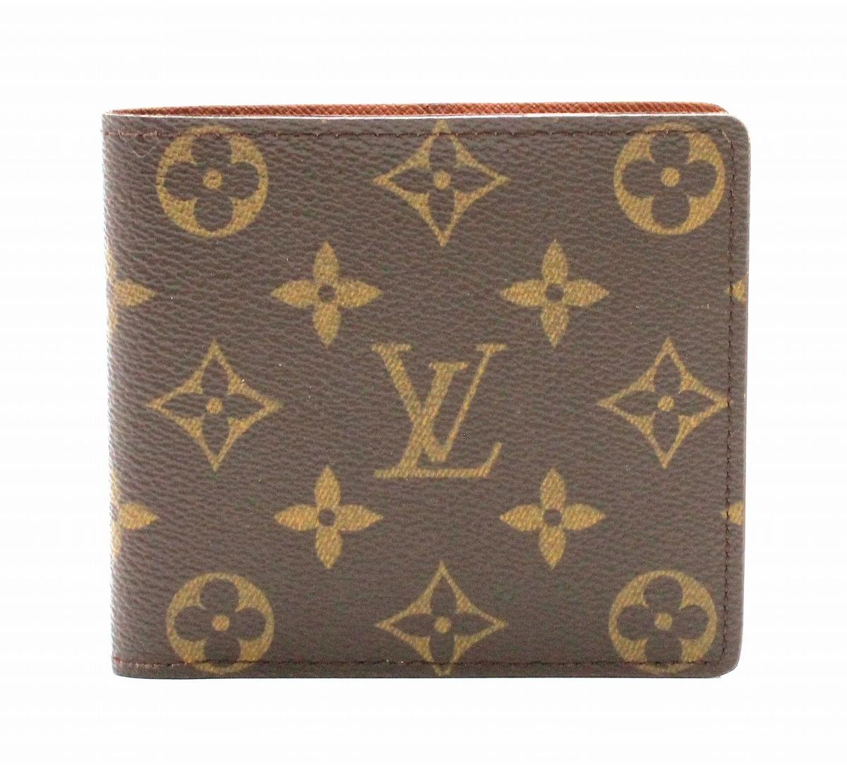 【財布】LOUIS VUITTON ルイ ヴィトン モノグラム ポルト ビエ カルト クレディ 2つ折札入れ M60879 【中古】【k】
