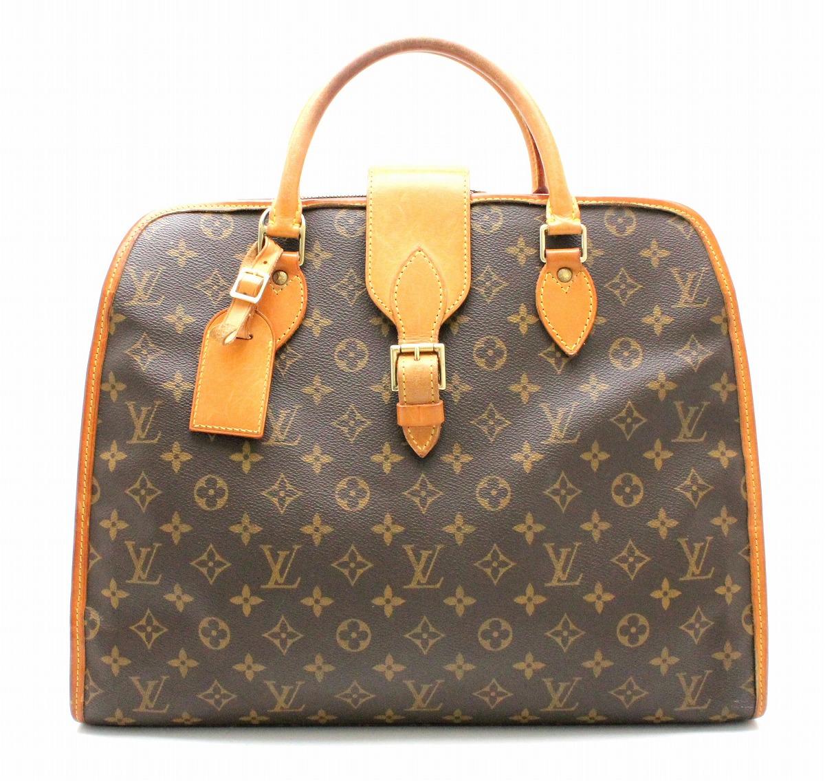【バッグ】LOUIS VUITTON ルイ ヴィトン モノグラム リヴォリ トートバッグ ハンドバッグ ビジネスバッグ 書類バッグ M53380 【中古】【k】