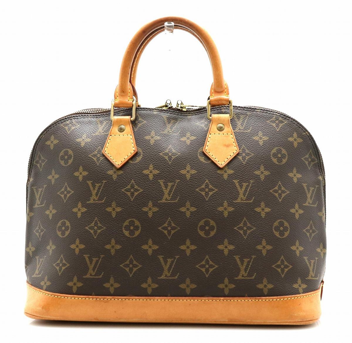 【バッグ】LOUIS VUITTON ルイ ヴィトン モノグラム アルマ ハンドバッグ M51130 【中古】【k】