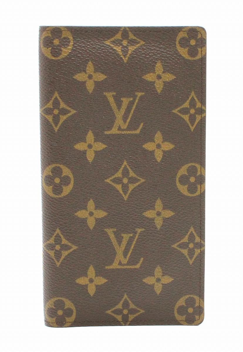 【財布】LOUIS VUITTON ルイ ヴィトン ポルトバルール カルト クレディ 2つ折長札入れ M61823 【中古】【k】