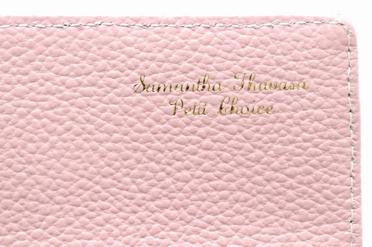 4fca95c05d26 ... 未使用品】【財布】SamanthaThavasaサマンサタバサプチチョイスリボンラインストーン