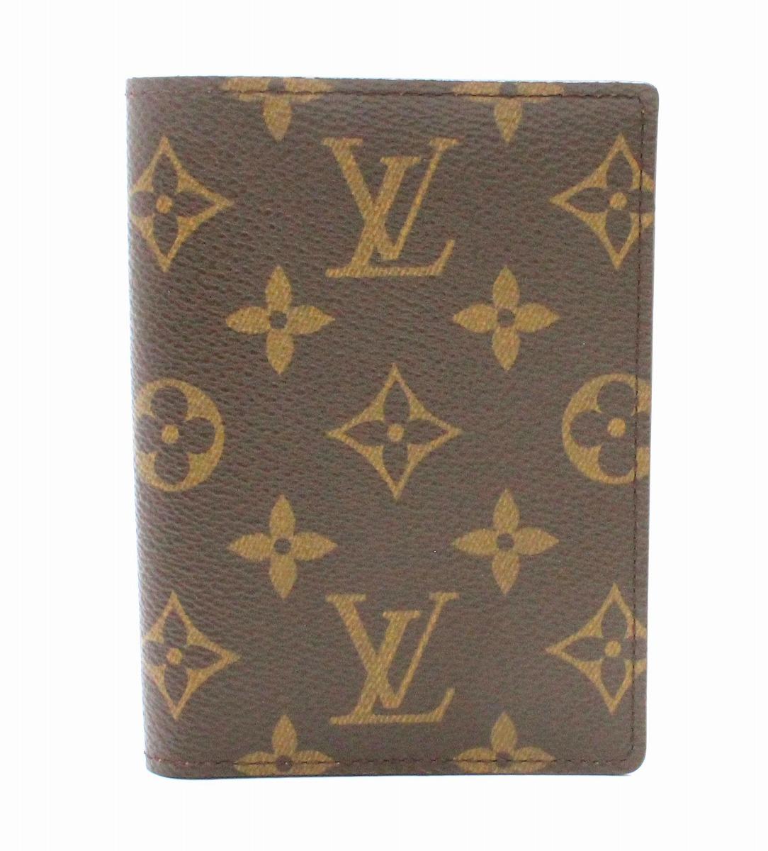 【未使用品】【財布】LOUIS VUITTON ルイ ヴィトン モノグラム トリフォルド 2つ折 札入れ カードケース 証明書ケース M61731 【中古】【k】