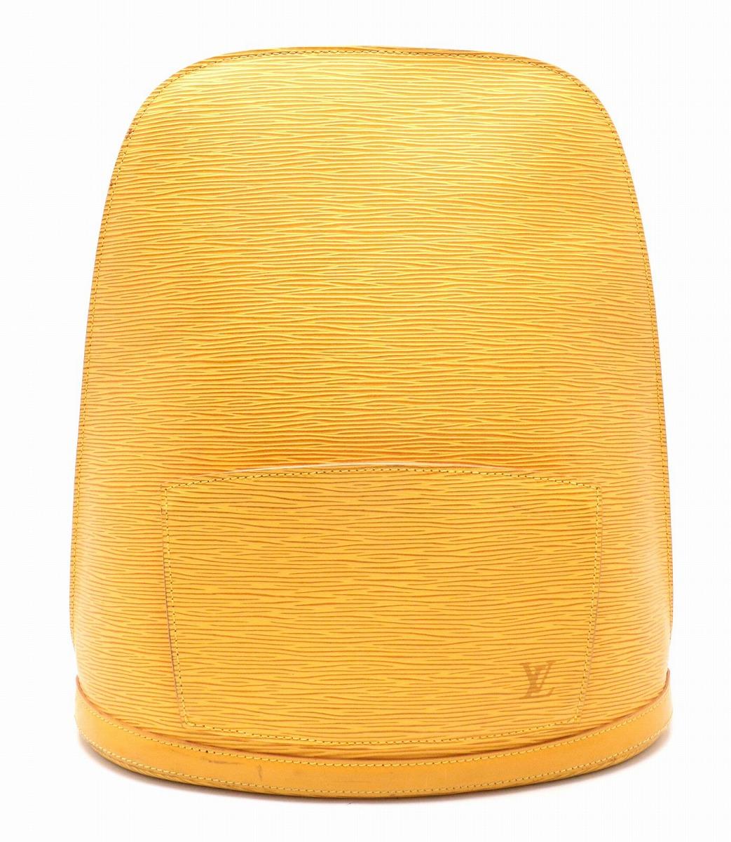 【バッグ】LOUIS VUITTON ルイ ヴィトン エピ コブラン リュック レザー タッシリイエロー 黄色 M52299 【中古】【k】