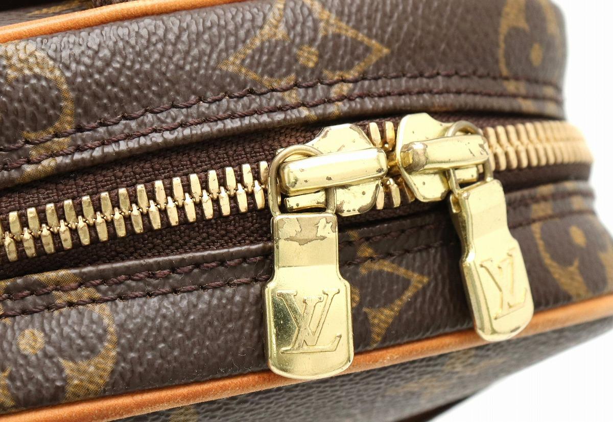 【バッグ】LOUIS VUITTON ルイ ヴィトン モノグラム ポシェット ガンジュ ボディバッグ ショルダーバッグ M51870 【k】