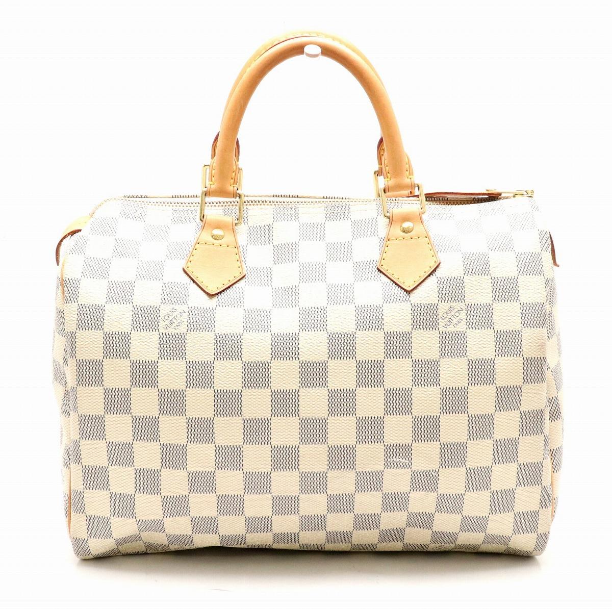 【バッグ】LOUIS VUITTON ルイ ヴィトン ダミエアズール スピーディ30 ハンドバッグ ミニボストンバッグ N41533 【中古】【k】