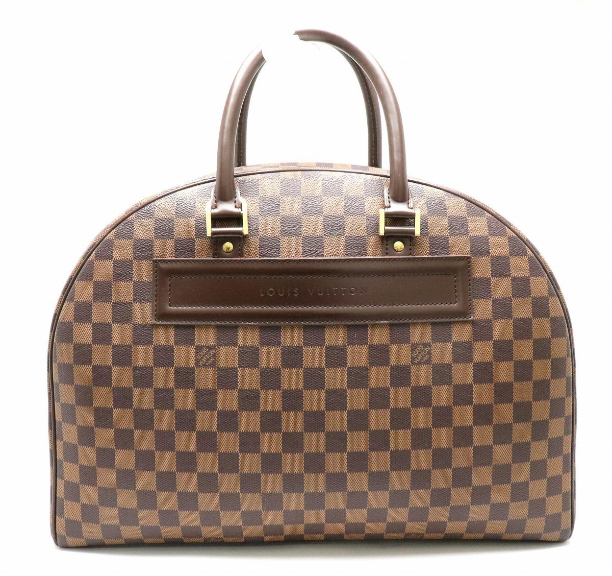 【バッグ】LOUIS VUITTON ルイ ヴィトン ダミエ ノリータ24 ハンドバッグ N41454 【中古】【k】