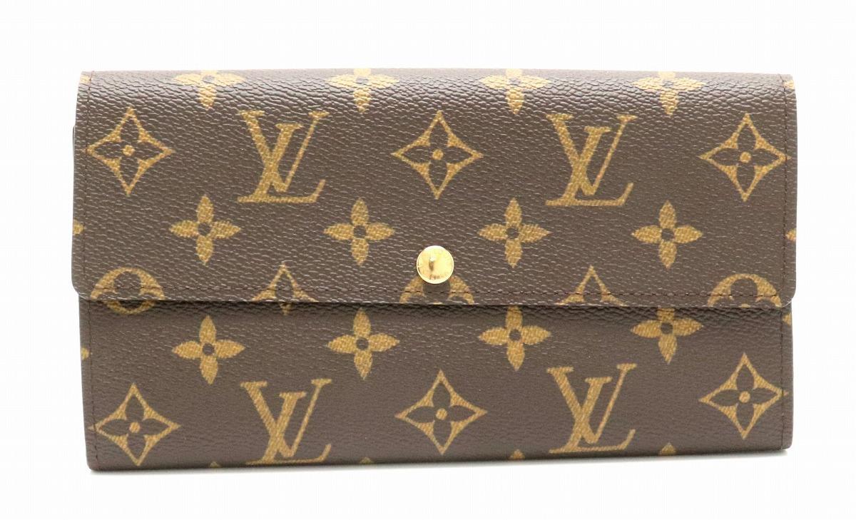 buy popular f6137 e2cd4 財布】LOUIS VUITTON ルイ ヴィトン モノグラム ポルトフォイユ ...