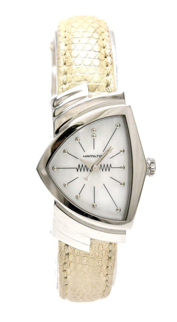 【ウォッチ】HAMILTON ハミルトン ベンチュラ シェル文字盤 レディース QZ クォーツ 腕時計 H242111 【中古】【k】
