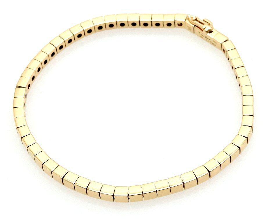 【ジュエリー】【新品仕上げ済】Cartier カルティエ ラニエール ブレスレット ブレス K18YG 750YG ゴールド #15 (実寸サイズ16.5cm) 【中古】【k】