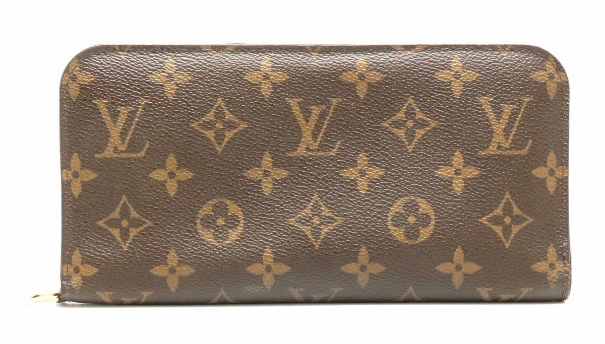 【財布】LOUIS VUITTON ルイ ヴィトン モノグラム アンソリット 2つ折ファスナー長財布 M60042 【中古】【k】