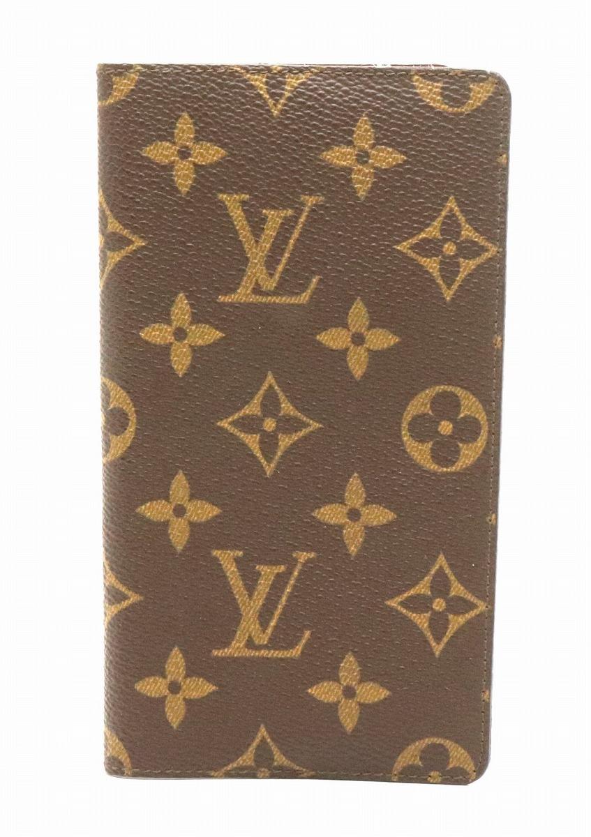 VUITTON 手帳カバー ポケットダイアリー アジェンダ LOUIS ヴィトン 【中古】【k】 ポッシュ M56340 ルイ モノグラム