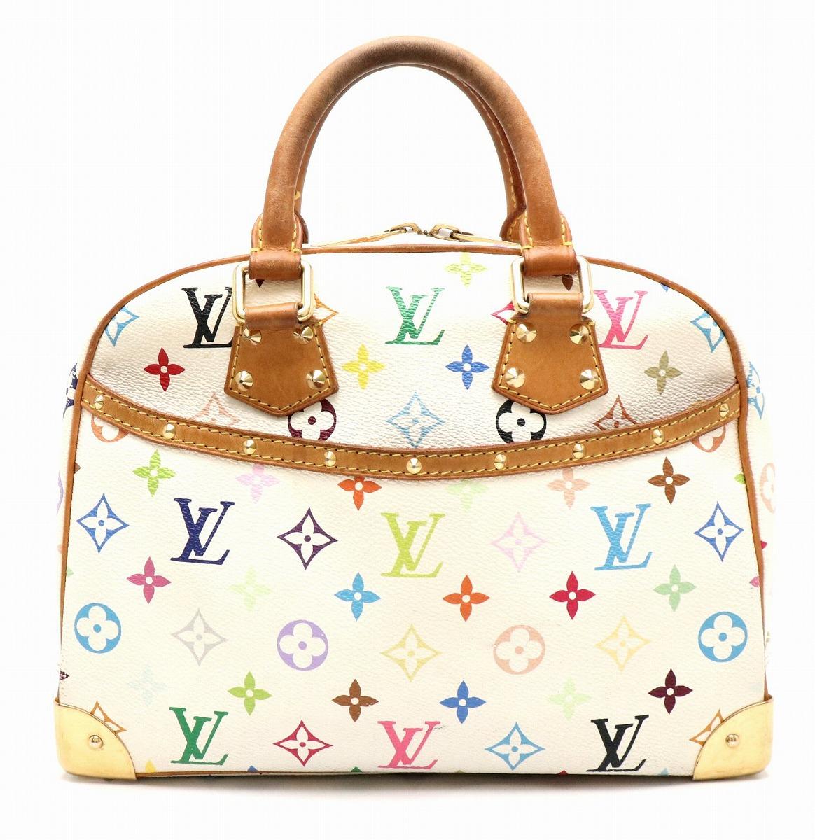 【バッグ】LOUIS VUITTON ルイ ヴィトン モノグラムマルチカラー トゥルーヴィル ハンドバッグ ブロン M92663 【中古】【k】