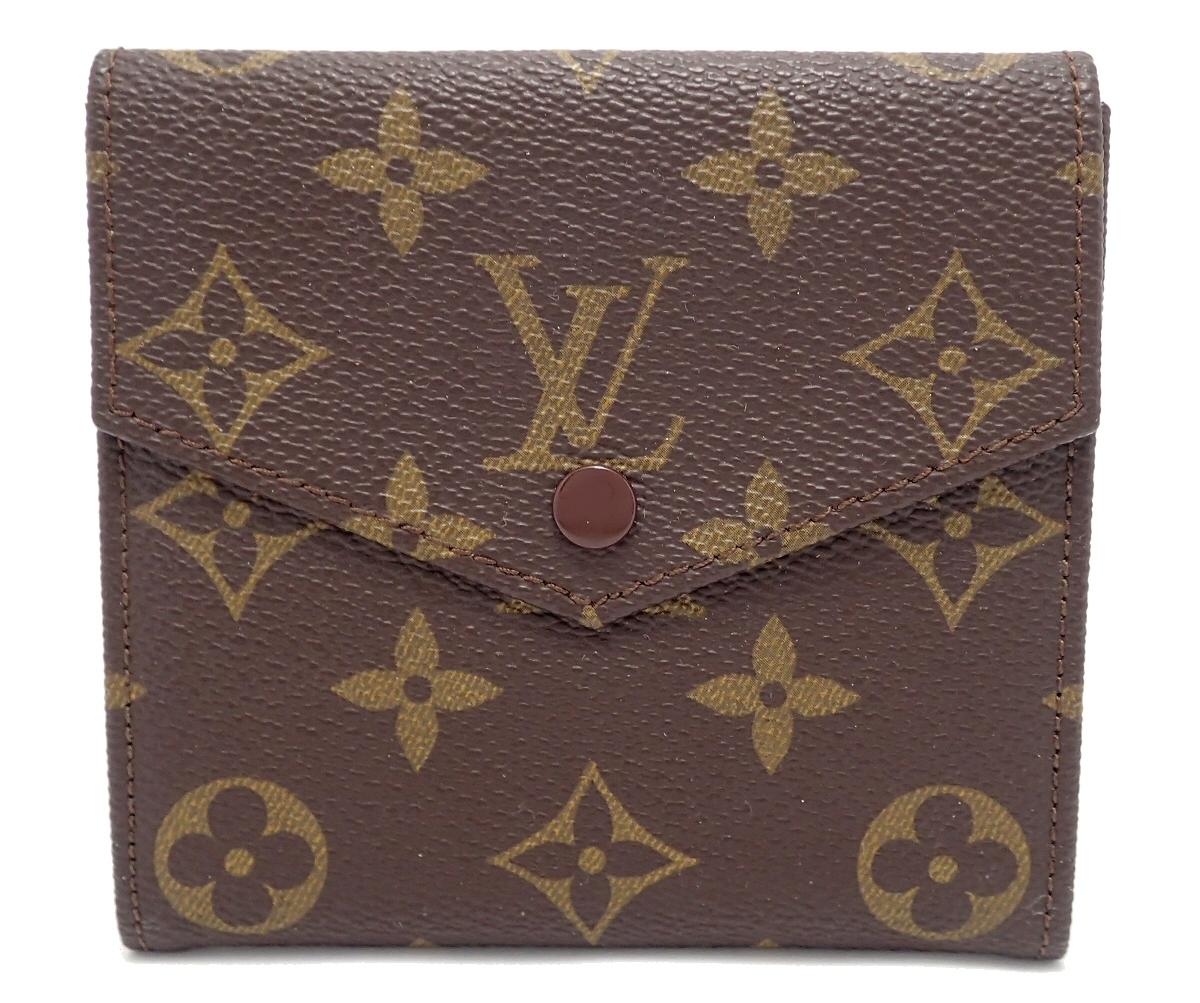 【財布】LOUIS VUITTON ルイ ヴィトン モノグラム ダブルホック財布 Wホック財布 M61660 【中古】【u】