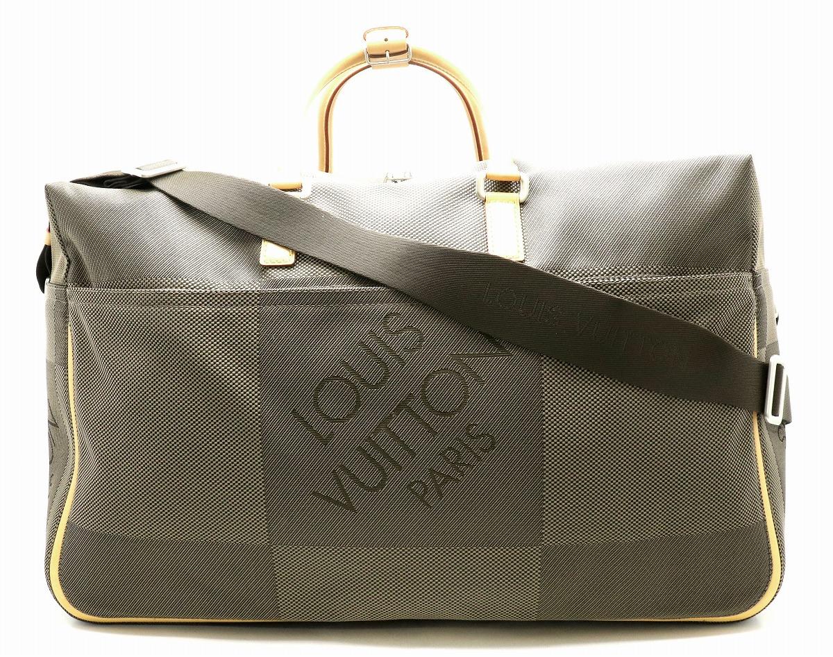 【バッグ】LOUIS VUITTON ルイ ヴィトン ダミエジェアン スヴラン ボストンバッグ トラベルバッグ 旅行カバン 2WAY 斜め掛け テール M93015 【中古】【k】