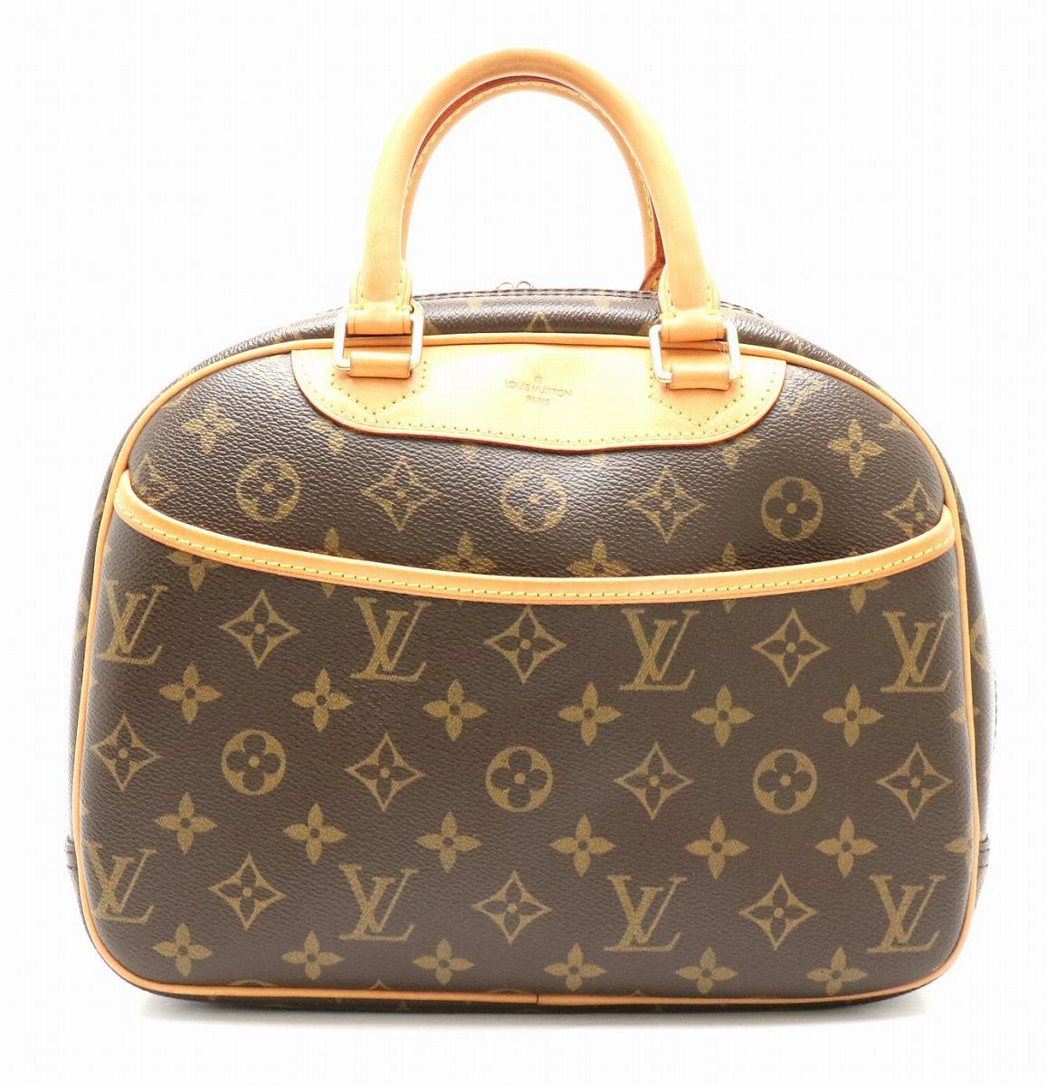 【バッグ】LOUIS VUITTON ルイ ヴィトン モノグラム トゥルーヴィル ハンドバッグ M42228 【中古】【k】