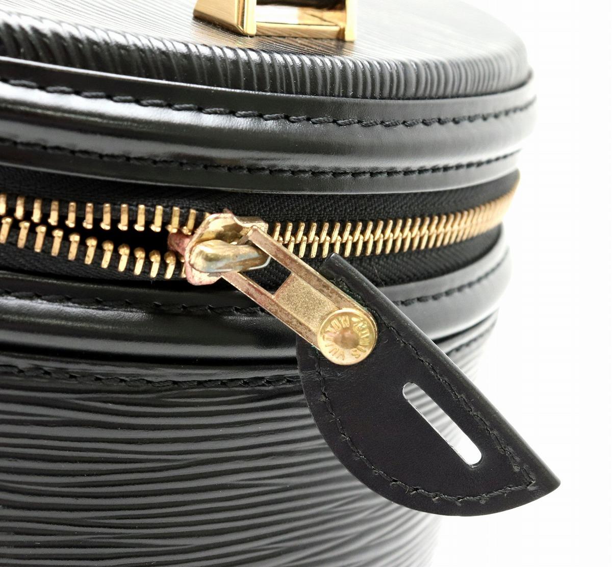 バッグ LOUIS VUITTON ルイ ヴィトン エピ カンヌ ハンドバッグ バニティバッグ バニティー レザー ノワール 黒 ブラック M48032s9H2YeDWEI
