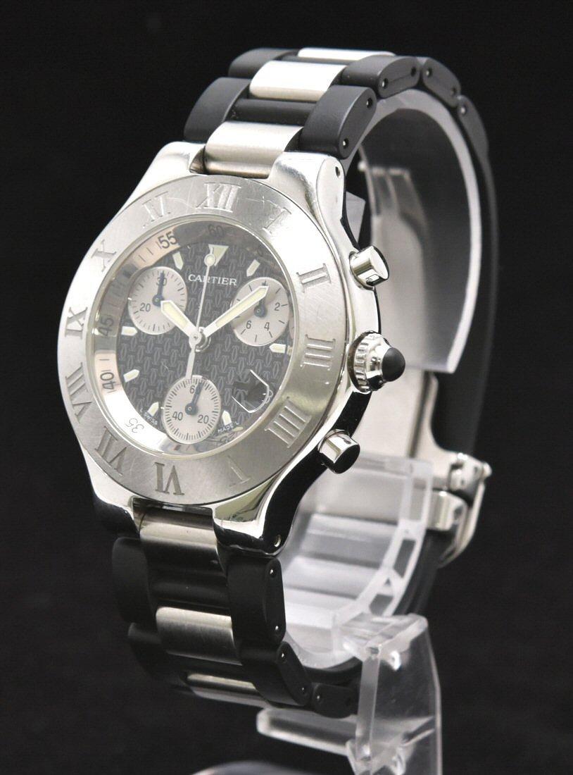 new styles e53ba 077df ウォッチ】Cartier 【中古】【k】 W10198U2 腕時計 クォーツ ...