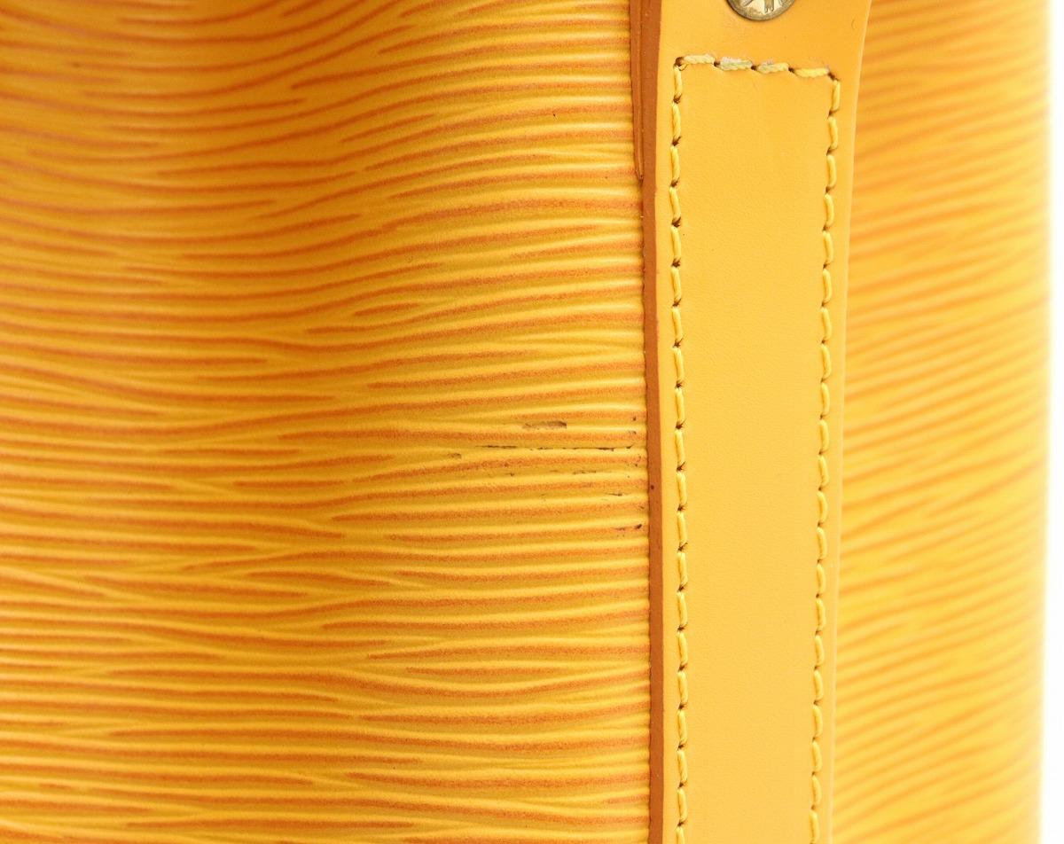 バッグ LOUIS VUITTON ルイ ヴィトン エピ プチノエ 巾着 ショルダーバッグ セミショルダー ワンショルダー レザー タッシリイエロー M44109sCBdtsQxhr
