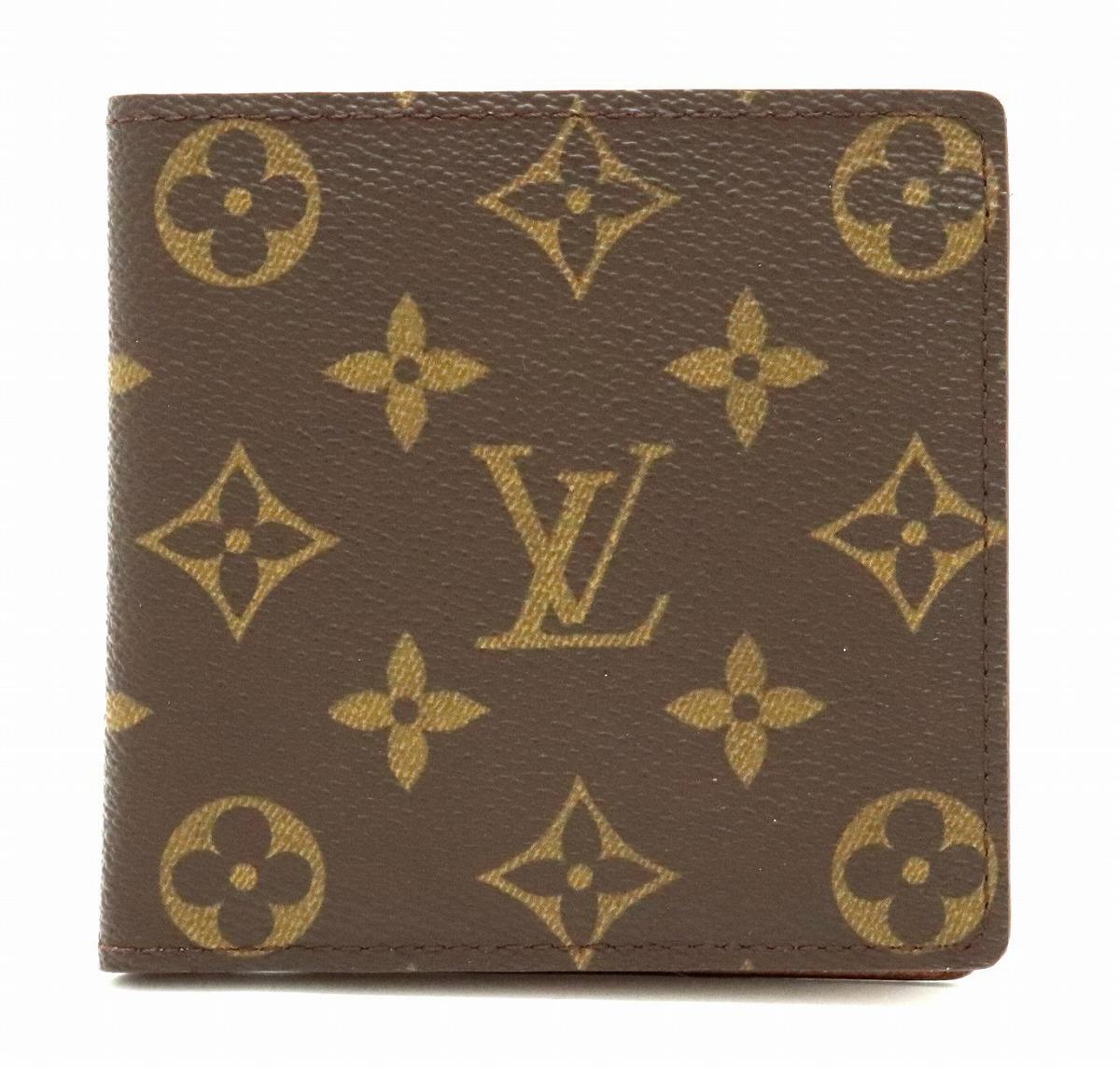 【財布】LOUIS VUITTON ルイ ヴィトン モノグラム ポルト ビエ カルト クレディ モネ 2つ折財布 M61665 【中古】【s】